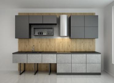 Кухонный гарнитур TSS NIRVANA MERCURIO