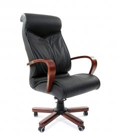 Кресло руководителя CHAIRMAN 444 WD чёрное