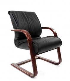 Кресло для посетителей CHAIRMAN 445 WD чёрное