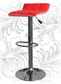 Барный стул 5014 Красно-белый