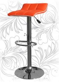 Барный стул 5014 Оранжево-белый