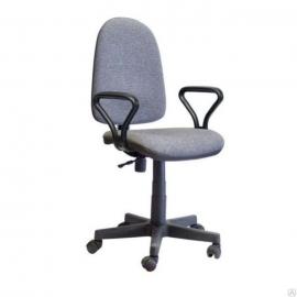 """Компьютерный стул """"Гранд самба"""" Светло-серый"""