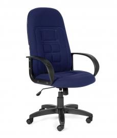 Кресло руководителя CHAIRMAN 727 синее