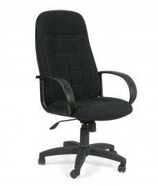 Кресло руководителя CHAIRMAN 727 чёрное