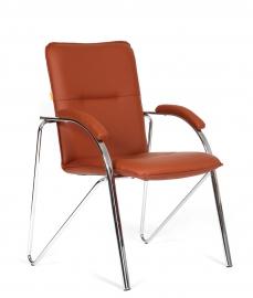Кресло для посетителей CHAIRMAN 850 коричневое