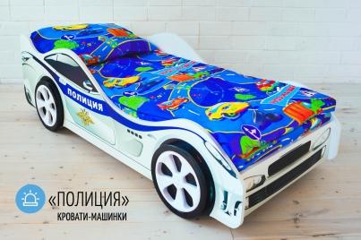 Кровать детская Полиция