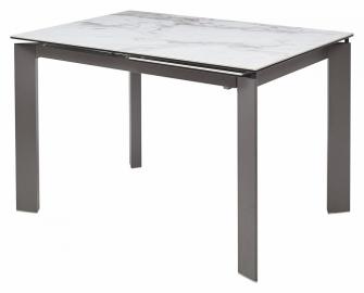 Стол CORNER MARBLE CERAMIC керамика глянец