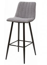 Барный стул DERRY антрацитовый меланж