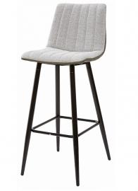 Барный стул DERRY светло-серый меланж