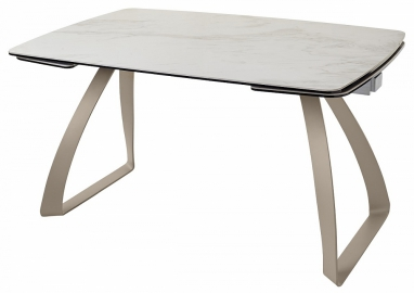 Стол ECLIPSE мрамор HT-031 керамика