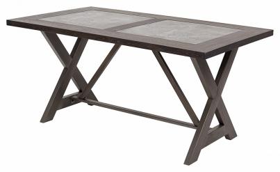 Стол EVELYN керамика шпон