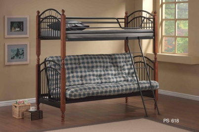 Кровать двухъярусная MK-1918-RO