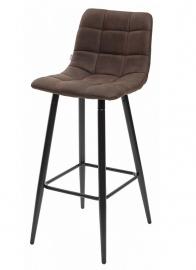 Барный стул SPICE коричневый, микрофибра