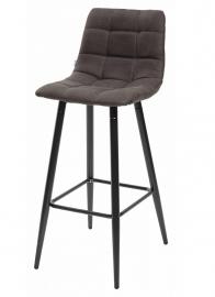 Барный стул SPICE темно-серый, микрофибра