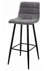 Барный стул SPICE теплый серый, ткань