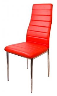 Стул F 261-3 Красный