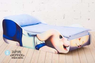 """Детская кровать Заяц """"Морячок"""""""
